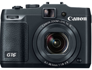 Canon PowerShot G16 with view finder
