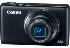 Canon PowerShot S95 for travel