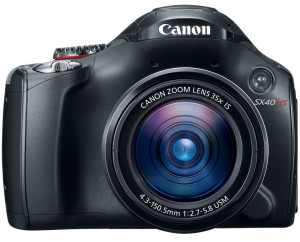 Canon SX40HS - point and shoot camera
